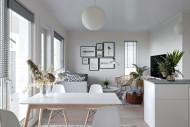 Kuvituskuva asunnon olohuoneesta